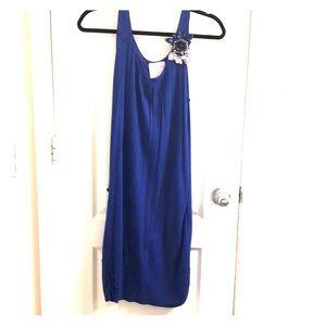 Vibrant Blue mini dress